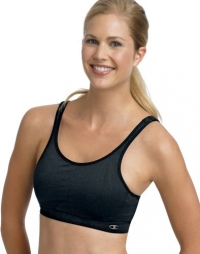 Champion Double Dry Seamless Full Support Underwire Sports Bra, 32/34B/C-Black