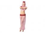 Jeannie Costume Like I Dream of Jeannie Pink & Red Bcup Costume