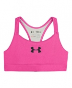 Under Armour Big Girls' UA Dazzle Bra Youth Small CHAOS