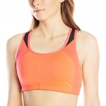 New Balance Women's The Fabulous Framer I Bra, X-Small, Bright Cherry