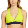 Zumba Fitness LLC Women's Allure V-Bra Top, Zumba Green, X-Small