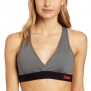 Zumba Fitness LLC Women's Allure V-Bra Top, Gravel, X-Small